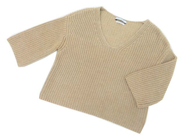 FOXEY NEW YORK COLLECTION 38231 Sweater ベージュ F A1美品【中古】