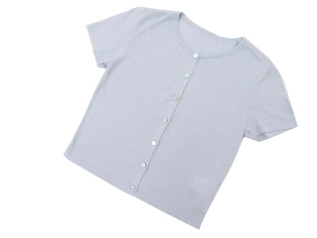 FOXEY BOUTIQIE 37632 Cardigan(Little Shell) ブルー 38 S1【中古】
