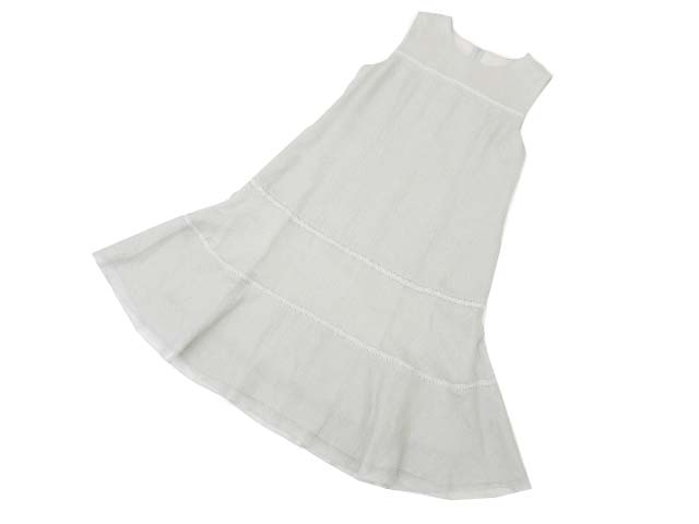 FOXEY BOUTIQUE 38679 Dress(Step Circle) ソフィーグレー 42 S2【中古】