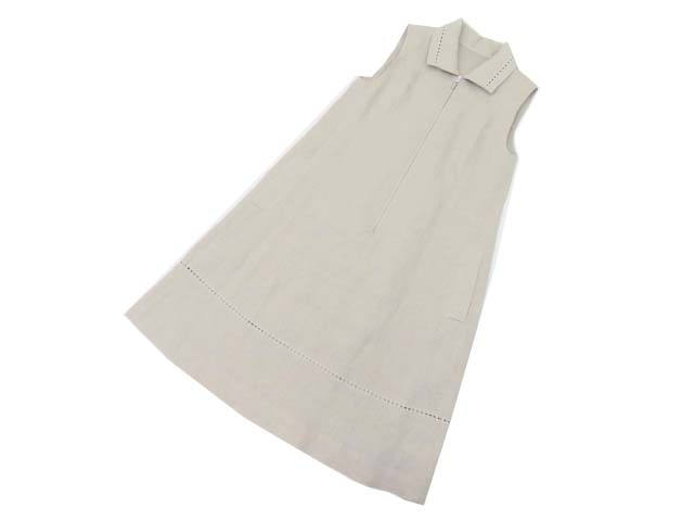 FOXEY BOUTIQUE 38667 Dress(Summer Leaf) ナチュラル 38 S1【中古】