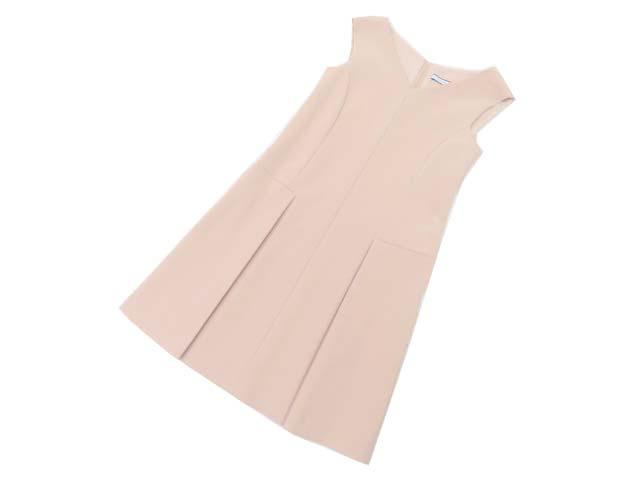 FOXEY NEW YORK 37801 Dress アンティークベージュ 40 S2【中古】