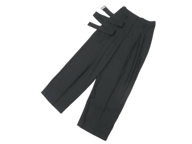 FOXEY BOUTIQUE 38117 Relaxing Pants ブラックブラック 38 S1【中古】