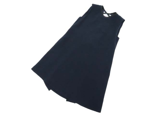 FOXEY NEW YORK 37799 Dress ネイビー 40 A1【中古】