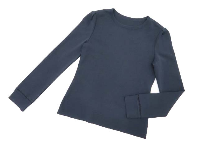 FOXEY BOUTIQUE 36949 knit Top(Simple Long Sleeve) ミッドナイトブルー 40 A1【中古】