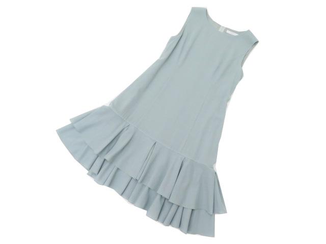 FOXEY BOUTIQUE 37640 Dress(Marigold) スモーキーグリーン 38 S2【中古】