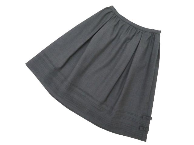 Rene basic スカート チャコールグレー系 36 A1【中古】