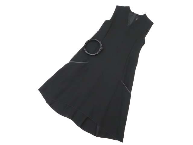 6/19(火)21:30から販売開始!!!FOXEY BOUTIQUE 36980 Dress(ベルト付き) ブラックブラック 38 A1【中古】