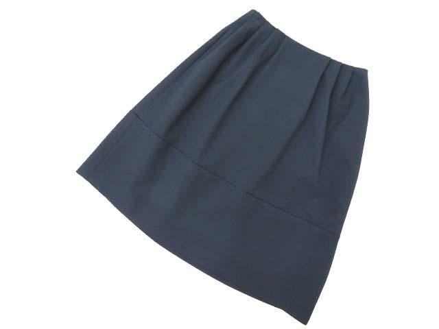 6/18(月)21:30から販売開始!!!Rene basic Skirt ネイビー 32 A1美品【中古】