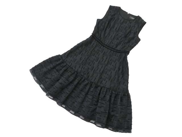 6/19(火)21:30から販売開始!!!FOXEY BOUTIQUE 37482 Dress ブラックブラック 42 A1美品【中古】