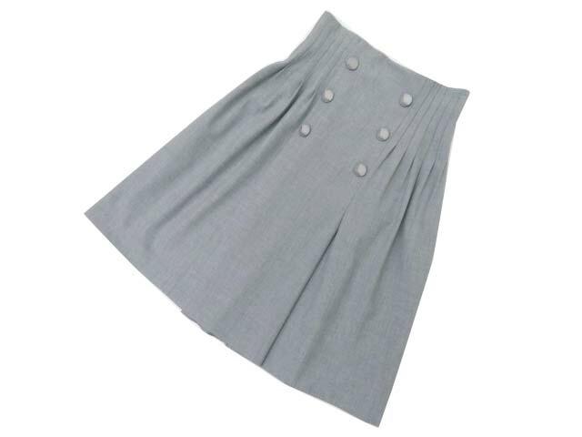Rene basic Skirt グレー 34 S2【中古】