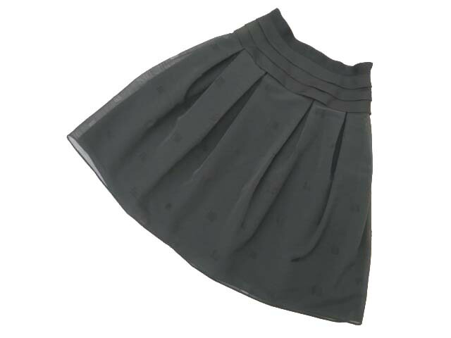 7/1(日)21:30から販売開始!!!FOXEY BOUTIQUE 37711 Skirt(Little Black) ブラックブラック 38 S2【中古】