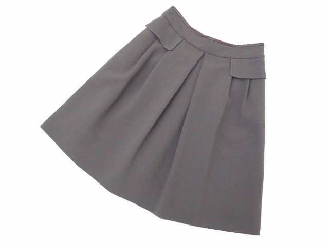 FOXEY BOUTIQUE 36137 Skirt(Jasmine) エスプレッソ 40 S2【中古】