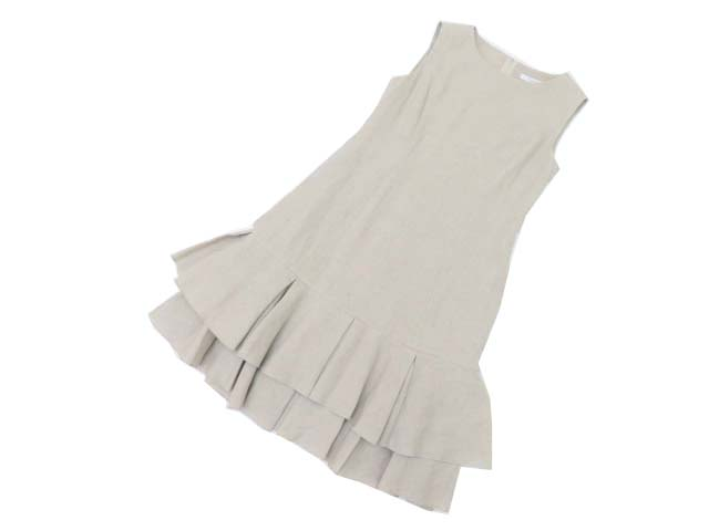 FOXEY BOUTIQUE 37935 Dress(Marigold) ナチュラル 38 S2【中古】