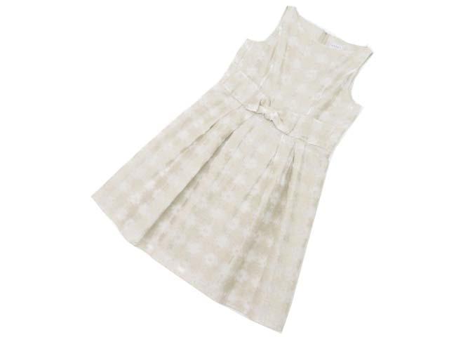 FOXEY BOUTIQUE 35362 ドレス(Hydrangea) ナチュラル 40 A1【中古】
