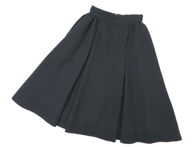 FOXEY BOUTIQUE 37077 Skirt ミッドナイトブルー 38 A1【中古】