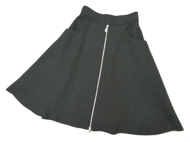 FOXEY BOUTIQUE 38144 Skirt(Elegant Zip) リッチグレー 38 S2【中古】