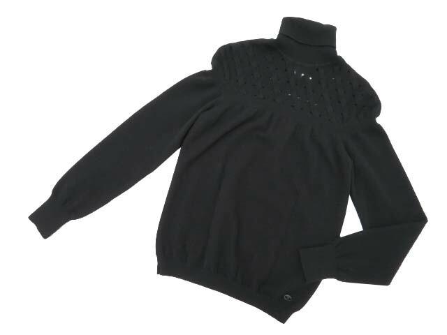 CHANEL Sweater ブラック 38 A1【中古】