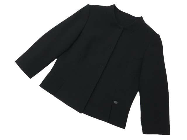 FOXEY BOUTIQUE 35218 ジャケット ブラックブラック 38 A1美品【中古】