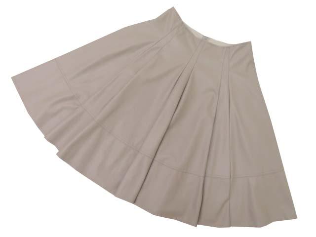 Rene Basic Skirt ベージュ系 36 S1【中古】