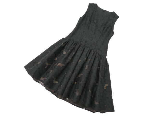 FOXEY BOUTIQUE 37049 Dress ブラックブラック 38 A1美品【中古】