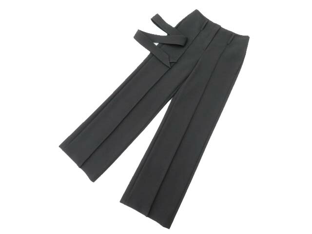 Theory Bistretch DB HW Belt Pant J ブラック XXO S2【中古】
