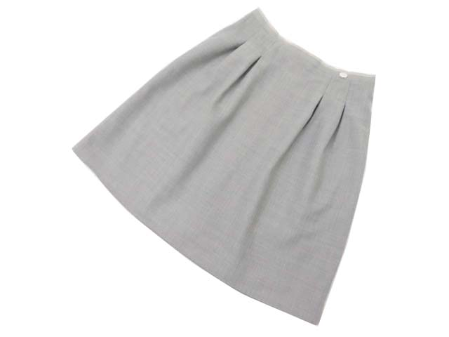 FOXEY BOUTIQUE 35582 Skirt ソフィーグレー 42 A1美品【中古】