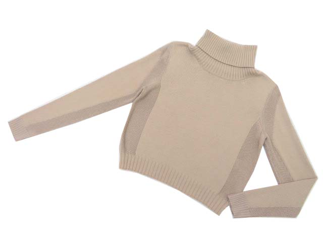 FOXEY NEW YORK COLLECTION 37447 Sweater ベージュ 38 S1【中古】