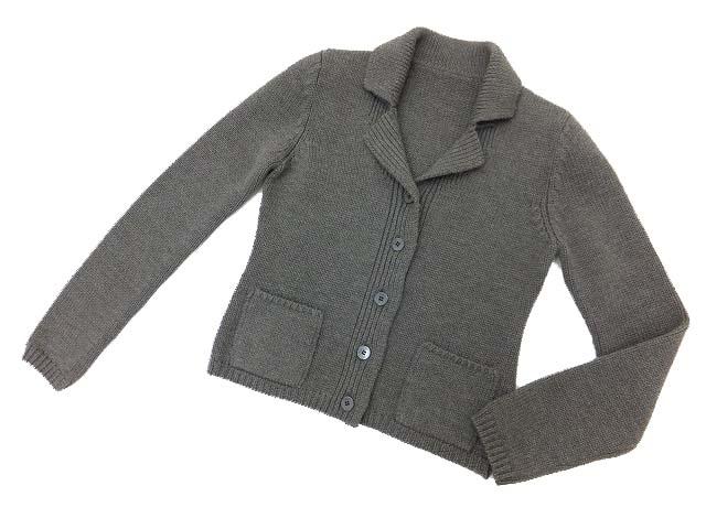 FOXEY BOUTIQUE 33743 ジャケット(Soft blend)  ミックスブラウン 40 A1【中古】