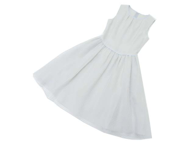 FOXEY BOUTIQUE 36874 Dress(Mint Sherbet) ソフィーブルー 38 A1【中古】