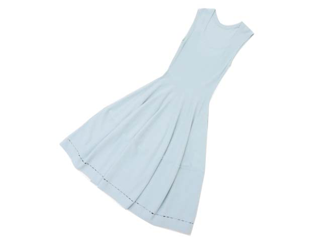 FOXEY BOUTIQUE 34519 Dress(Oval Square 2) スモーキーブルー 38 A1【中古】