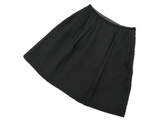 FOXEY BOUTIQUE 35333 Skirt ブラックブラック 40 S2【中古】