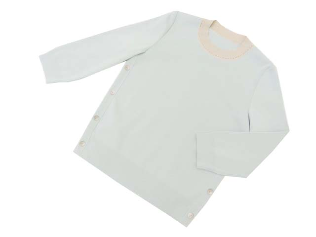 FOXEY BOUTIQUE 39481 Knit Top アイスブルー 38 S1【中古】