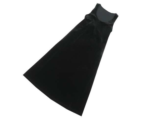Daisy Velour 06032 Dress(Resort Lady) ベルベットブラック M S1【中古】