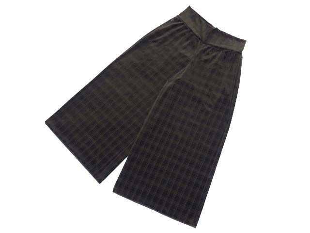 DAISY VELOUR by FOXEY 06005 Cross Velour Pants ヘーゼル F A1【中古】