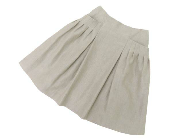 FOXEY BOUTIQUE 37969 Skirt ナチュラル 38 A1美品【中古】