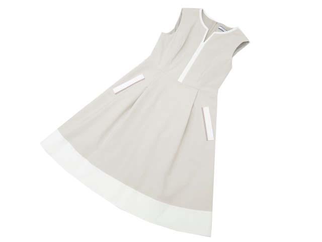 FOXEY NEW YORK 35727 Dress ベージュ(伊勢丹限定カラー) 40 A1【中古】