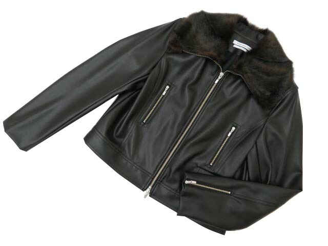 FOXEY NEW YORK COLLECTION 38935 Jacket ブラック 40 S2【中古】