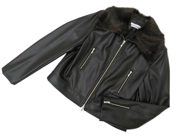 FOXEY NEW YORK COLLECTION 38935 Jacket ブラック 40 S2【中古】