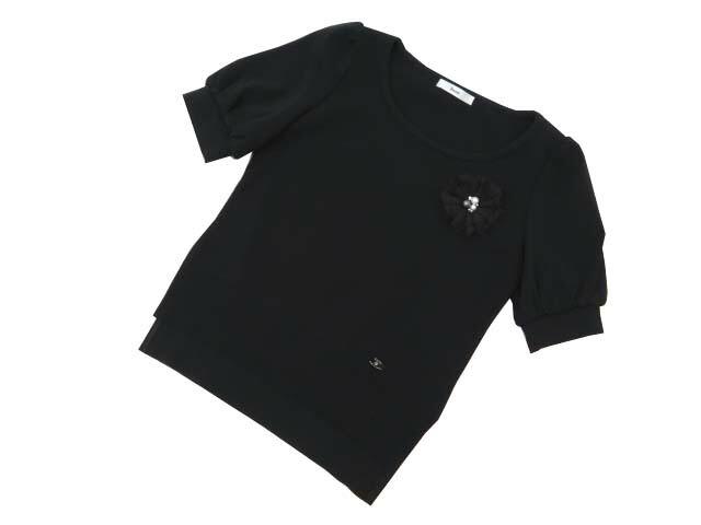 Rene Knit Top ブラック 34 A1美品【中古】