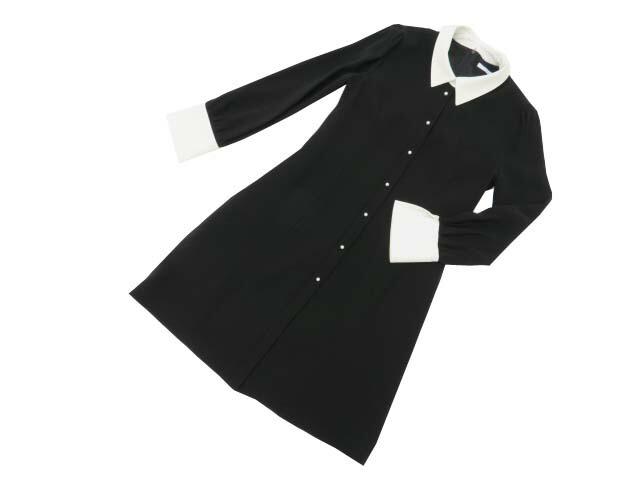 FOXEY BOUTIQUE 37912 Dress ブラックブラック 38 A1美品【中古】