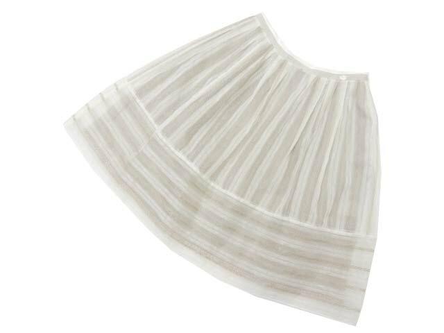 FOXEY BOUTIQUE 36712 Skirt(La Seine) シルクホワイト 42 A1【中古】