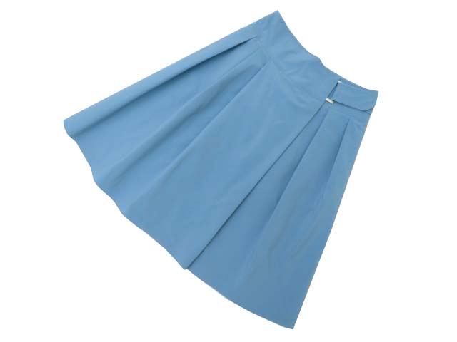 DAISY LIN for FOXEY 35697 Skirt ロイヤルブルー 38 A1【中古】