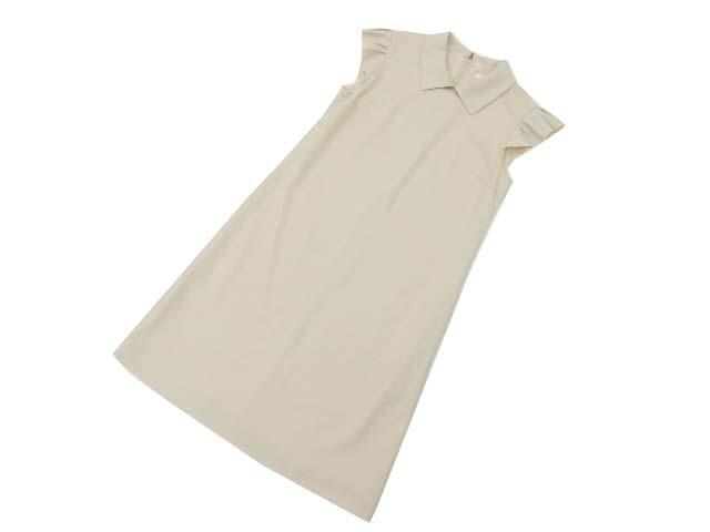 FOXEY BOUTIQUE 38438 Dress(Lilac) オイスターベージュ 38 S2【中古】