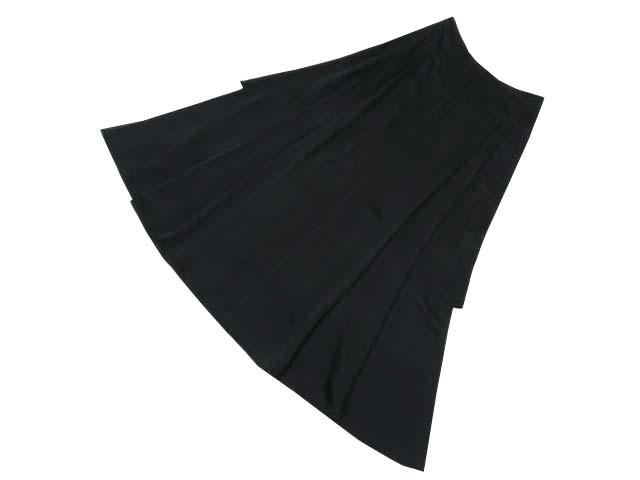 ADEAM 38392 ロングスカート ブラック 2 A1【中古】