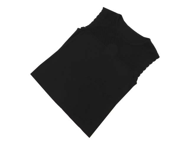 FOXEY BOUTIQUE 39902 Knit Top(Ruffle Trim Top) ブラックブラック 42 S2【中古】