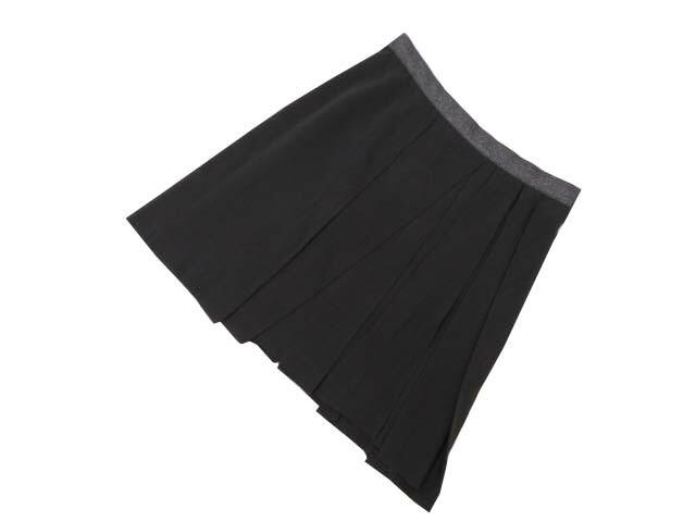 BRUNELLO CUCINELLI スカート グレー 40 A1【中古】