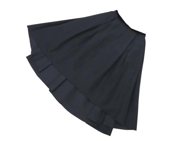 FOXEY BOUTIQUE 37140 Skirt(Grace Gala) ミッドナイトブルー 40 A1【中古】