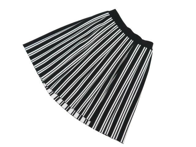 BALENCIAGA ニットスカート ブラック×ホワイト 34 A1【中古】