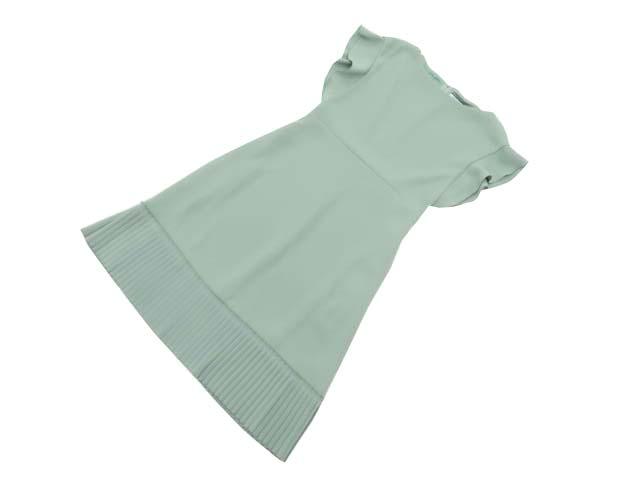 FOXEY NEW YORK 38192 Dress ミント 40 A1【中古】