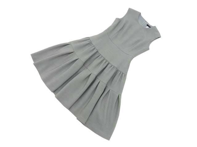 Rene basic Dress グレー 34 S1【中古】